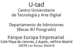 U-tad. Centro Universitario de Tecnología y Arte Digital » U-tad ... | Producción de imágenes digitales para multimedia y Web | Scoop.it