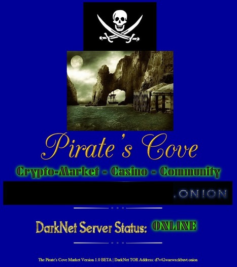 #PiratesCove Launches To Avenge #SilkRoad | Media & Academia (latest) | Scoop.it