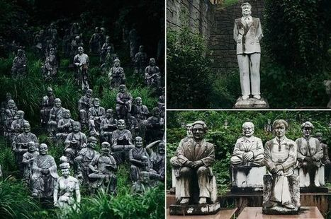 World's creepiest village home to hundreds of eerie statues   Strange days indeed...   Scoop.it