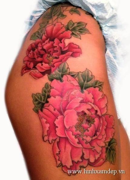 xăm hình nghệ thuật và ý nghĩa hoa mẫu đơn | Xăm Hình Nghệ Thuật Đẹp Nhất Tại Tattoo PT ART ở HCM | Scoop.it