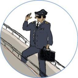 Le quotidien d'un pilote de ligne en vidéo !   Un jour - Un métier   métier pilote d'avion   Scoop.it
