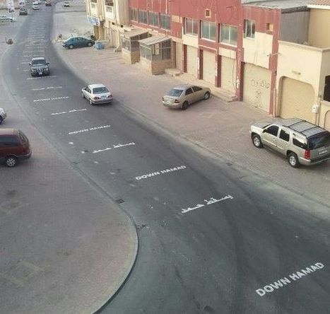The Bahrain DOT is 'Down' with the message! | Human Rights and the Will to be free | Scoop.it