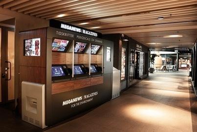 Meganews, le kiosque robotisé imprime le périodique de votre choix parmi une sélection de 200 titres | Les médias face à leur destin | Scoop.it