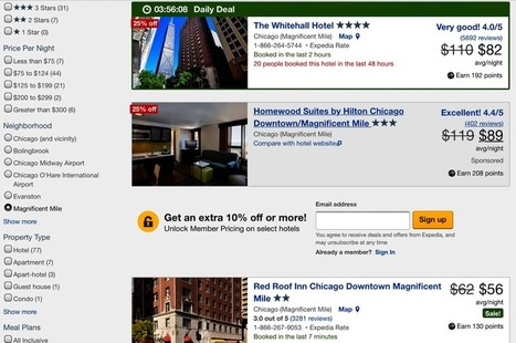 Expedia Overturns Hotel Business Model With Introduction of Bidding for Listings | Médias sociaux et tourisme | Scoop.it