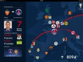 Le PSG lance son application dédiée à la Ligue des Champions | Coté Vestiaire - Blog sur le Sport Business | Scoop.it