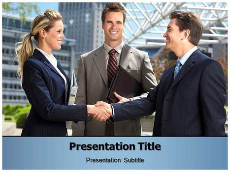 Free  Business PowerPoint Templates | Free PPT Template | Scoop.it