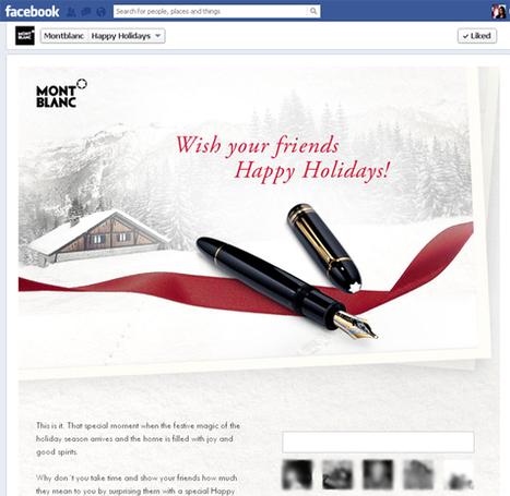 TOP 10 du noël digital des marques de luxe | Luxury brands web strategies | Scoop.it