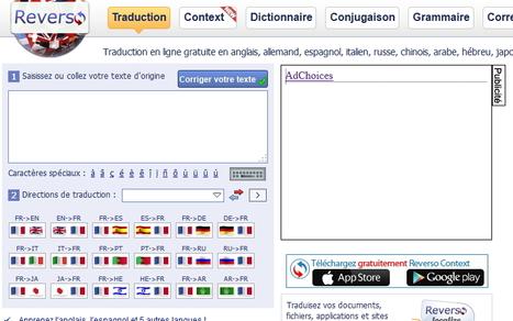 Reverso. Des outils linguistiques complets pour tous | Le Top des Applications Web et Logiciels Gratuits | Scoop.it