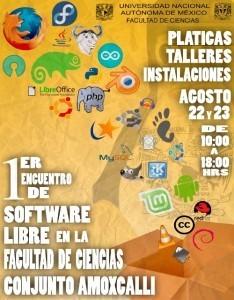 1er Encuentro de Software Libre UNAM Facultad de ciencias | Maestr@s y redes de aprendizajes | Scoop.it