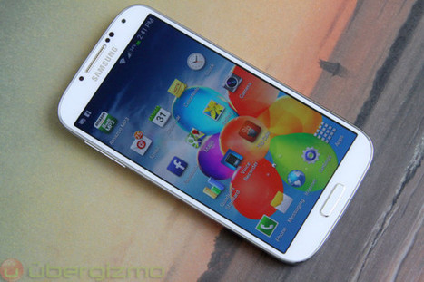 Test du Samsung Galaxy S4 - UberGizmo.com | Applications productivité - utilitaire - navigation sur smartphones : ios, android et windows | Scoop.it