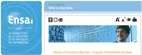 Ensai : ouverture d'un master international BIG DATA | Bonnes pratiques en documentation | Scoop.it