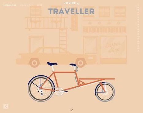 16 Inspiring Examples of Retro and Vintage Elements in Web Design | le webdesign | Scoop.it