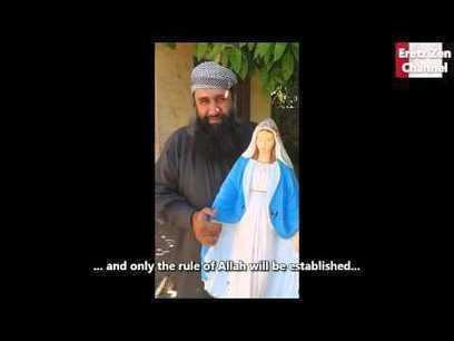 SIRIA: clérigo wahabí, destroza una estatua de la Virgen María en ... | WAHABISMO | Scoop.it