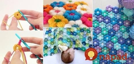 Nádherná kvetinková deka pre bábätka + návod, ako ju môžete vyrobiť! | Domácnosť a bývanie | Scoop.it