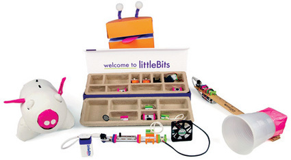SLJ Reviews LittleBits: These bright, appealing sets encourage tinkerers to explore electronics | LibraryLinks LiensBiblio | Scoop.it