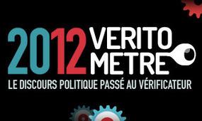 Véritomètre - 2012 - i>TÉLÉ - Le discours politique passé au vérificateur | Seniors | Scoop.it