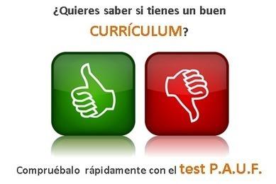 Cómo evaluar tu Currículum -Método P.A.U.F. | Emplé@te 2.0 | Scoop.it