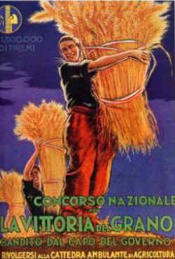 Affiche de propagande. La bataille du grain. Mussolini | La propagande | Scoop.it