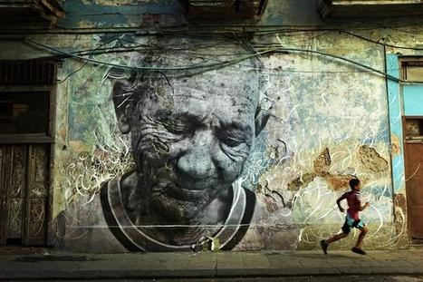 Enormous Street Art Portraits in Cuba - My Modern Metropolis | rakarekodamadama | Scoop.it