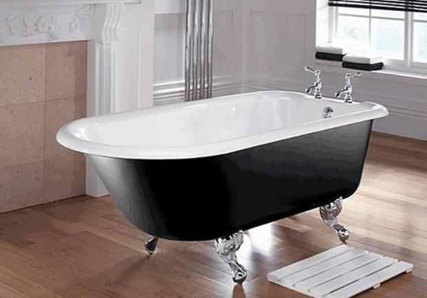 39 baignoire 39 in la revue de technitoit - Salle de bain avec baignoire sur pied ...