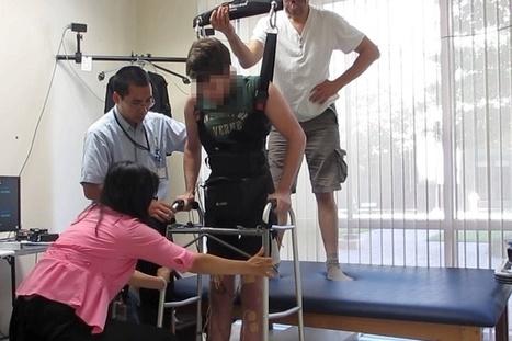 Brain cap helps paralysed man to walk again in medical first #medicine #brain #science | Social Neuroscience Advances | Scoop.it