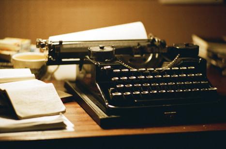 YOU WILL NEVER HATE ALONE » Si tu veux devenir écrivain, ne t ... | Écriture | Scoop.it