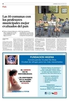 Las 10 comunas con los profesores municipales mejor evaluados del país | País | La Tercera Edición Impresa | Aprendizaje y Educación 2.0 | Scoop.it
