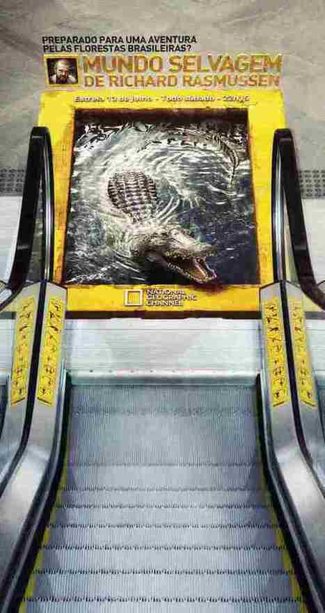 Creative Ambient Advertising   NotTooBad -  IDEE IN TRANSITO   Scoop.it