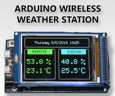 Arduino Wireless Weather Station | Open Source Hardware News | Scoop.it