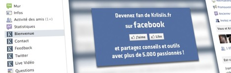 Créez votre propre onglet personnalisé pour votre Fan-Page Facebook en 5 étapes | La petite revue du journaliste web | Scoop.it