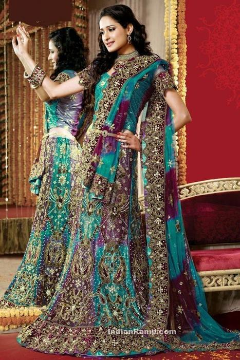 Bridal Lehenga - How To Choose The Most Beautiful Bridal Lehenga For Your Special Day, Indian Fashion | Indian Fashion Updates | Scoop.it