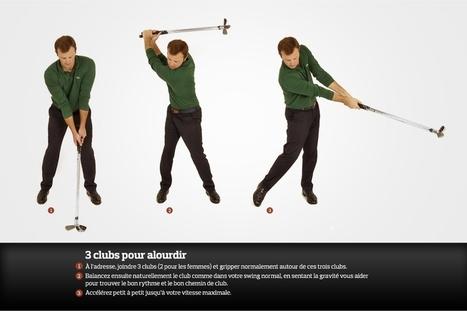 Neuf exercices pour gagner de la distance au drive | Nouvelles du golf | Scoop.it