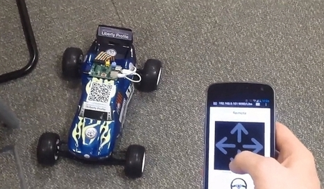 RC car with on-board Raspberry Pi can be driven from anywhere | Raspberry Pi | Scoop.it