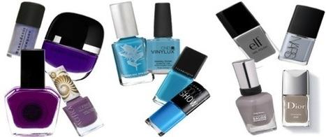 Grey Nail Art Designs and Grey Fake Nail Designs | Beauty and Hairstyles | Scoop.it