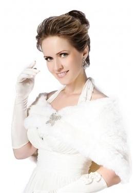 Faux white rabbit fur short fur shawl | Comfortable faux fur coat fashion | Scoop.it