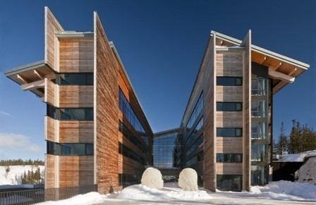 [Åre, Sweden] Copperhill Mountain Lodge / Bohlin Cywinski Jackson | The Architecture of the City | Scoop.it