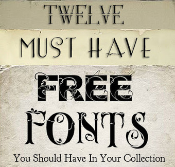 Shadowhouse Creations: 12 Free Must Have Fonts | Education Library and More | Scoop.it