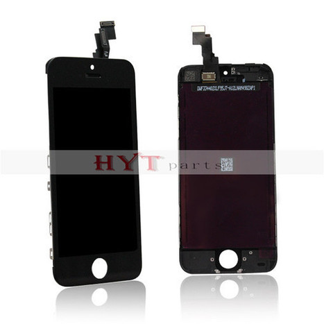For iPhone 5C Front Housing LCD Touch Digitizer Screen Assembly Black | How to save more money and time | Scoop.it