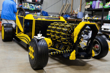 Driveable LEGO Hotrod Built from 500,000 Pieces and Runs Entirely on Air | Le It e Amo ✪ | Scoop.it