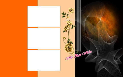 ... PSD Background Beautiful Charming Wedding Template Free Download