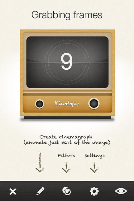 Kinotopic - iPhone app to create Kinos and Cinemagraphs | Sitting on Two Stools | Scoop.it