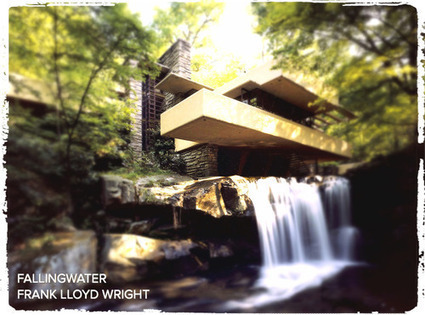 'FallingWater' by Frank Lloyd Wright (1937, Pittsburgh, PA.)   Decor   Scoop.it