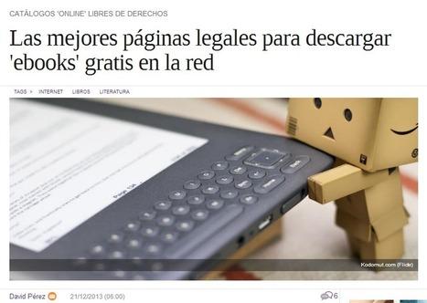ABSOLUTAMENTE TODOS los SITIOS donde descargar LIBROS GRATIS en ESPAÑOL incluidos de TEXTO   libros y bibliotecas en la era digital   Scoop.it