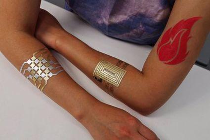 Ces tatouages temporaires vont vous surprendre | La Wearable Tech | Scoop.it