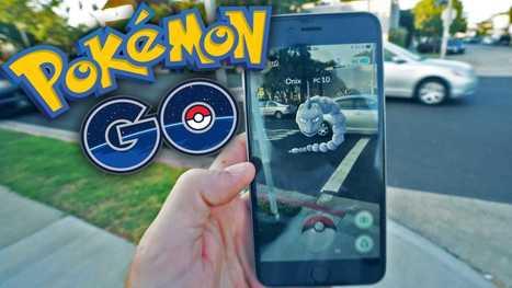 Pokémon Go : tout savoir sur l'application mobile qui bat tous les records | Agence web AntheDesign | Scoop.it