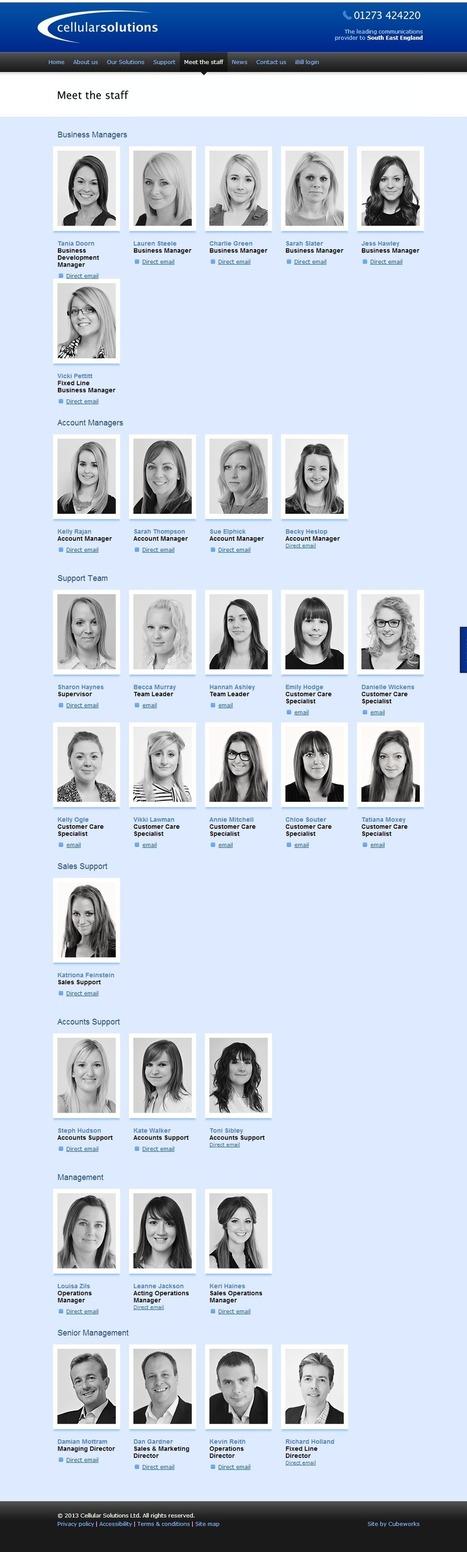 Page Pute - Cellular Solutions, une société qui a tout compris (sauf à la fin de l'organigrame, ça commence à pêcher un peu)   éco-féminisme sociale   Scoop.it