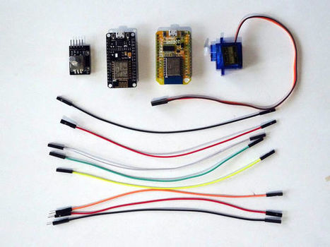 ESP8266 and Visuino: Control Servo Remotely over Wi-Fi with Rotary Encoder | Raspberry Pi | Scoop.it