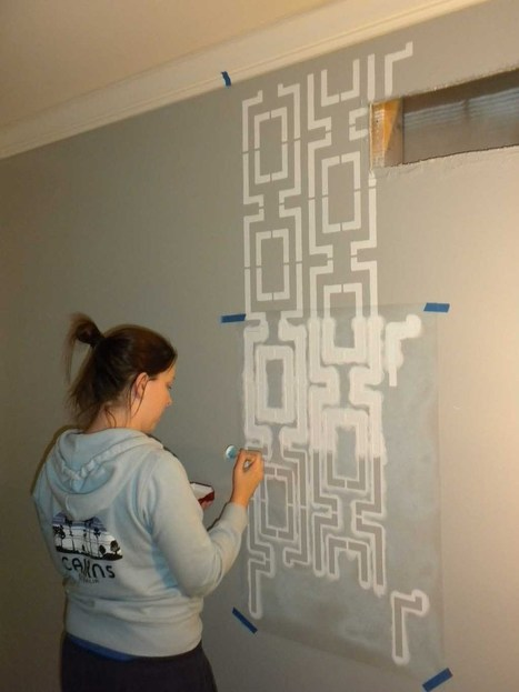 How To Stencil A Wall | Home Design | Scoop.it