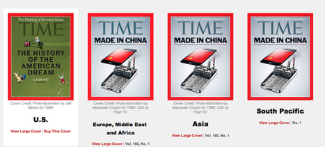 Time Magazine Covers In The U.S. Vs. The Rest Of The World | Human Geography | Scoop.it