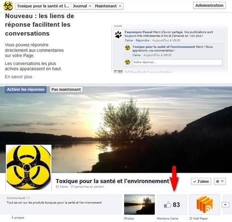 Les liens  de réponse sur les commentaires disponibles pour les pages Facebook   Social Media Curation par Mon Habitat Web   Scoop.it